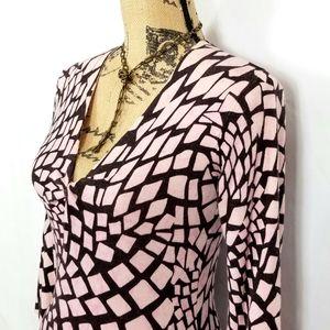 INC Geometric Sweater